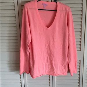Lilly Pulitzer cashmere sweater xl